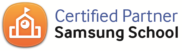 Logo certified partner samsung school